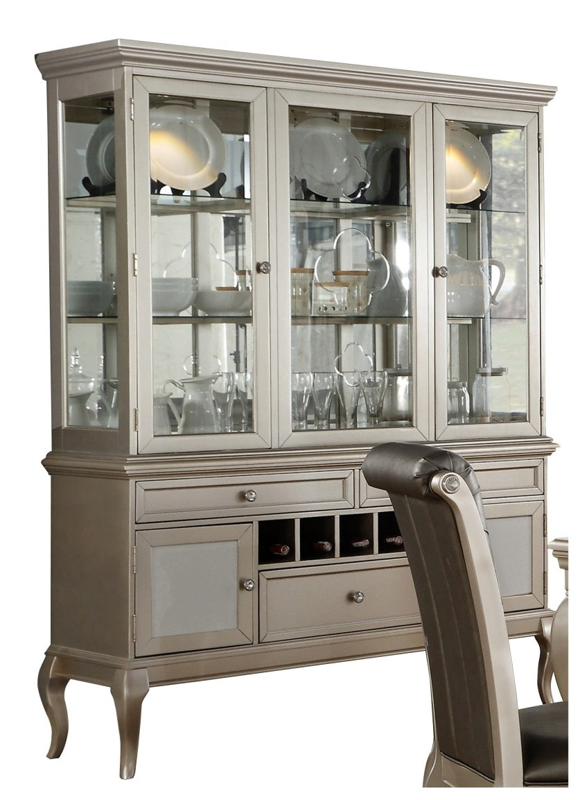 Homelegance Crawford Buffet and Hutch in Silver 5546-50* image