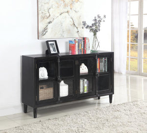 Transitional Black Accent Cabinet image