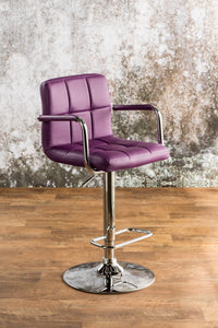 Corfu Purple Bar Stool image