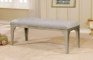 DIOCLES Silver/Light Gray Bench