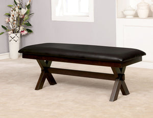Jolie Dark Cherry Bench