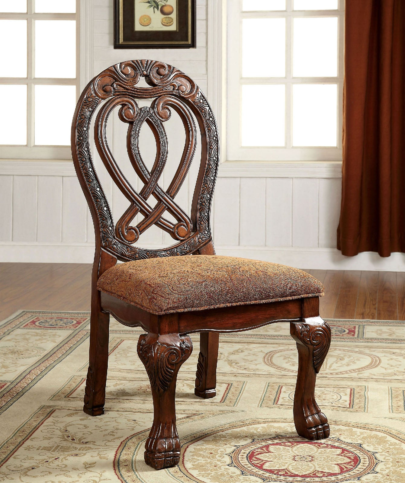 WYNDMERE Cherry Side Chair (2/CTN)