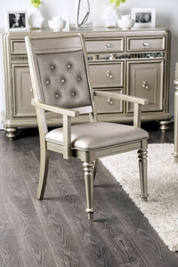 Xandra Champagne Arm Chair (2/CTN)