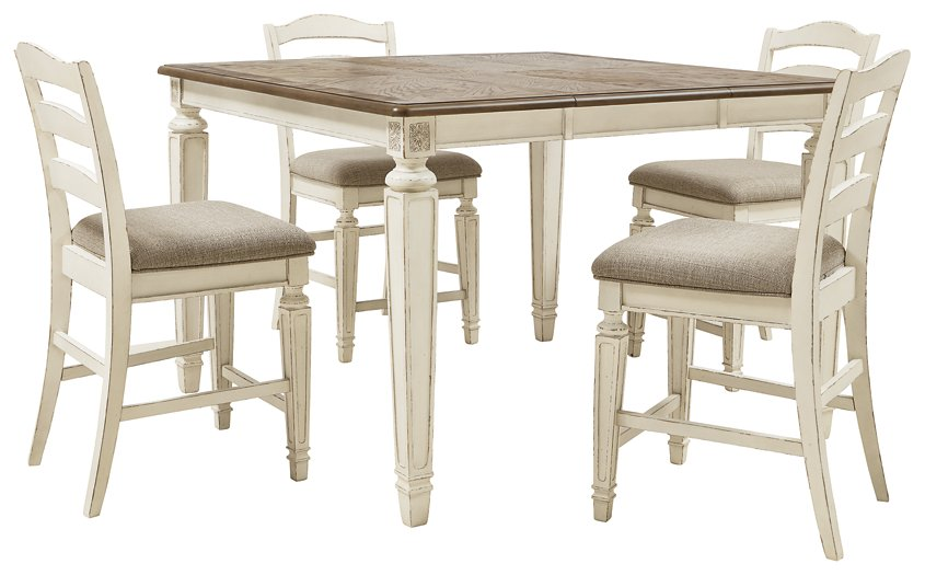 Realyn Signature Design 5-Piece Dining Room Package image