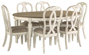 Realyn 7-Piece Dining Room Set
