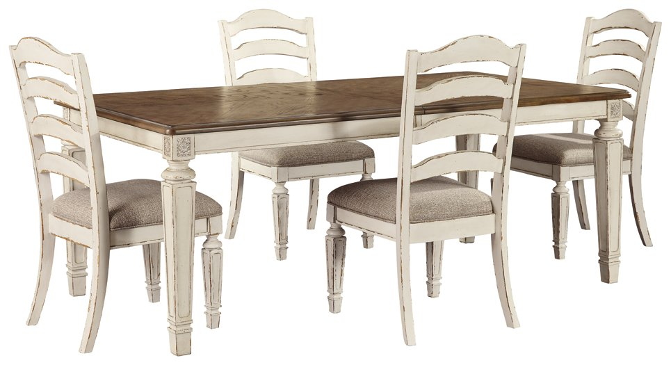 Realyn Signature Design 5-Piece Dining Room Set image