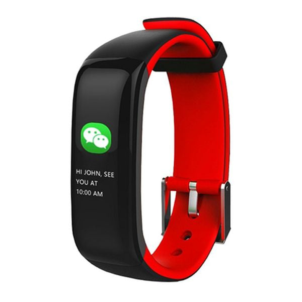 "Activity Bangle BRIGMTON BSPORT-15-R 0,96"" OLED 150 mAh Bluetooth 4.0 Red"