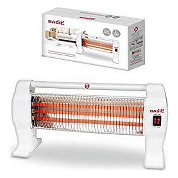 Electric Quartz Heater Basic Home 1200W White
