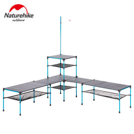 Naturehike folding table outdoor portable ultra light camping changeable picnic barbecue dinner party table