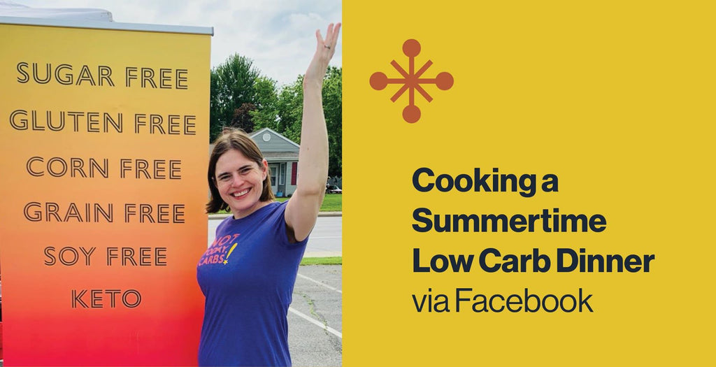 Cooking a Summertime Low Carb Dinner with Chef Alexa