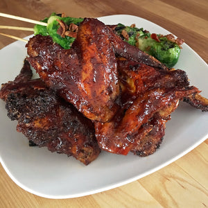 Barbecue Glazed Wings