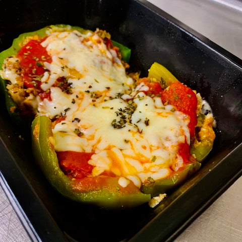 Old School Stuffed Pepper Meal