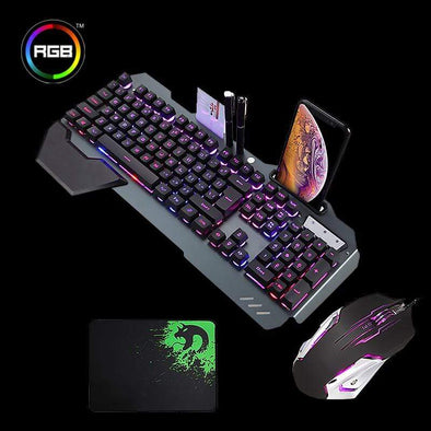 Aquila Gaming™ 708024 Raven Black - RGB Aquila Basan Bundle