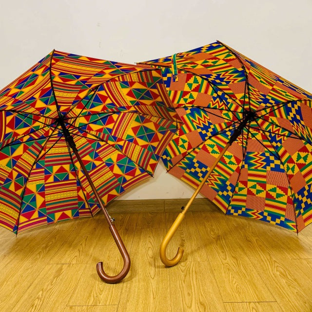 Reign Down on Me  Wooden Umbrella