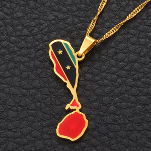 Saint Kitts and Nevis Pride Necklace