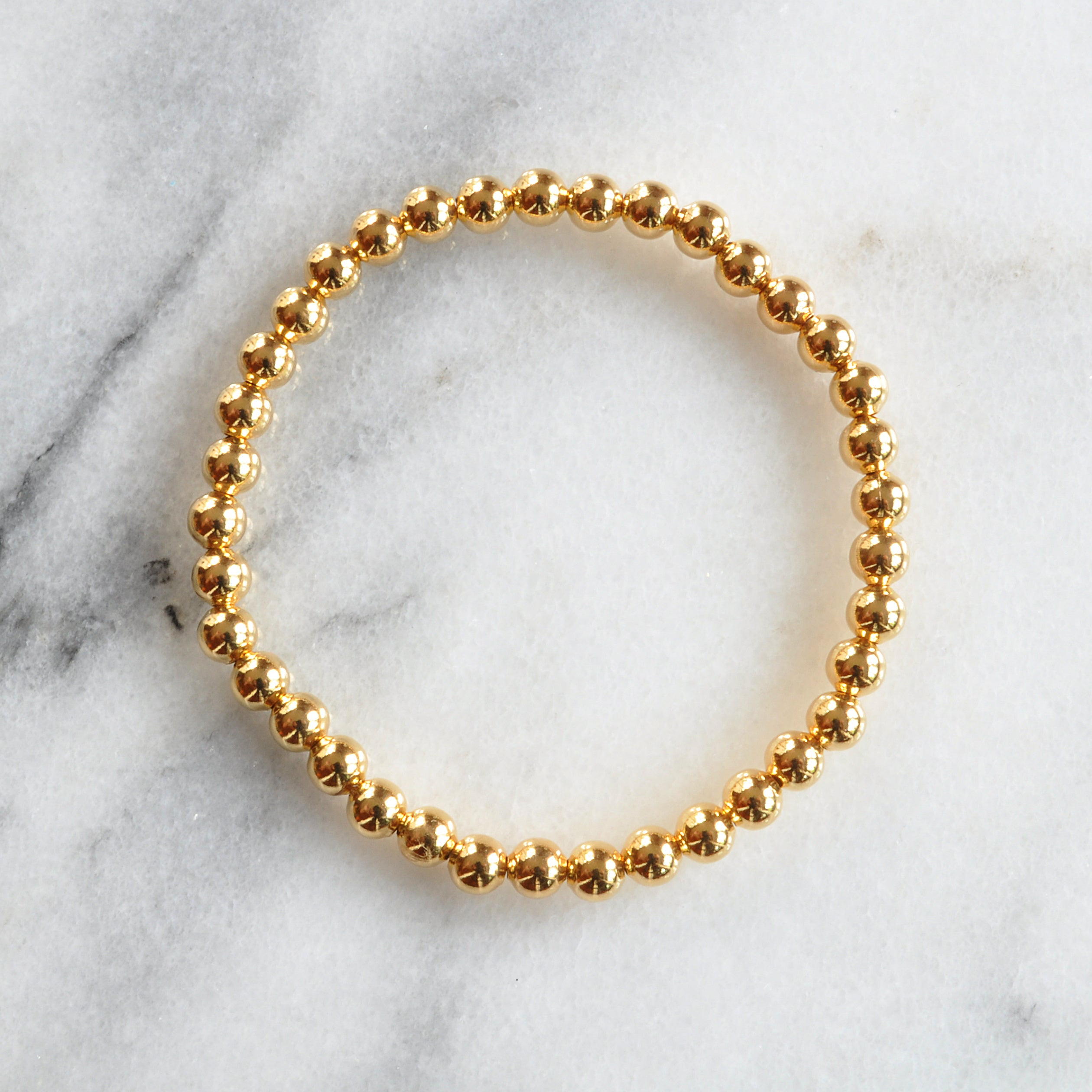 Libby & Smee gold plated bangle bracelet