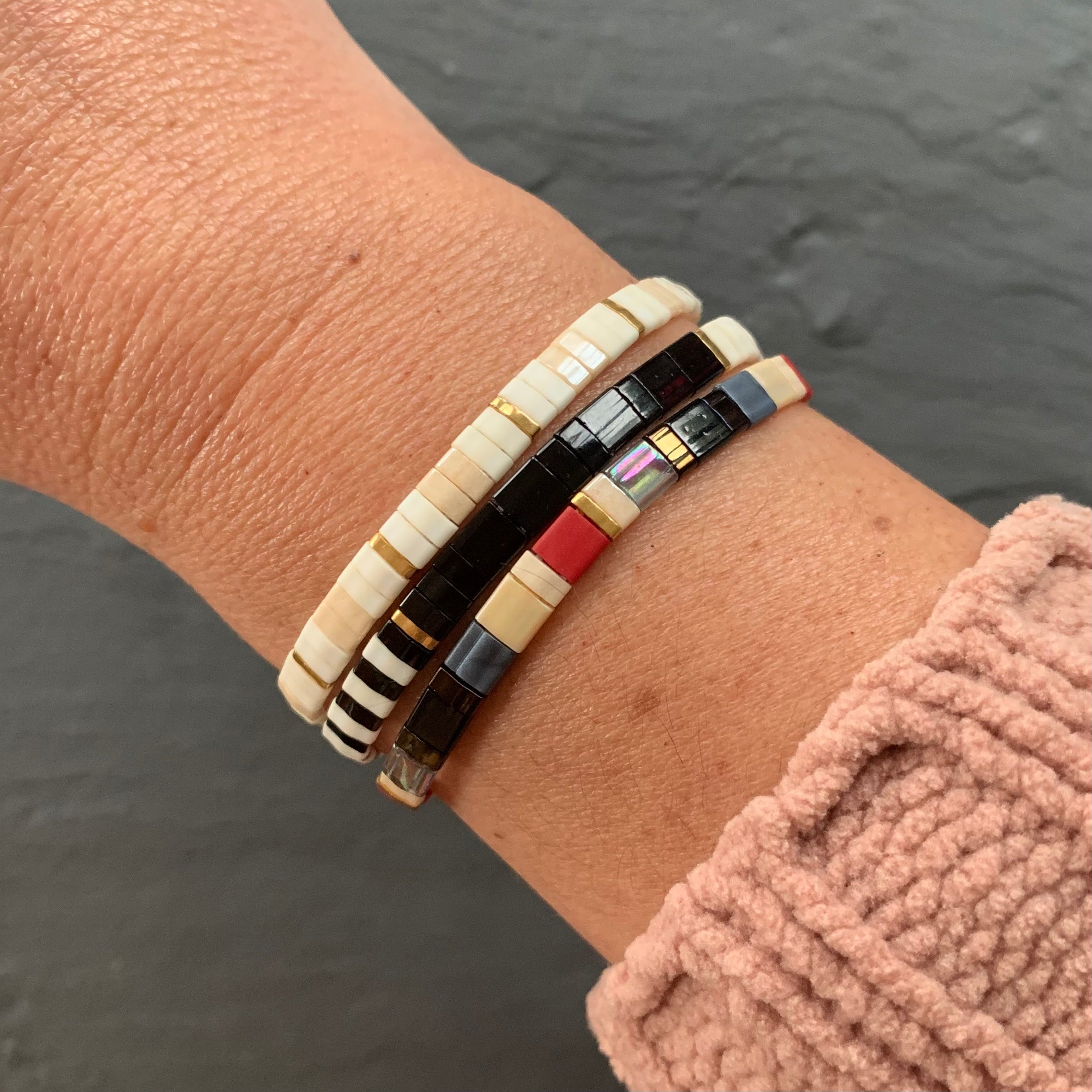 Tile Bracelet Curated Set - DECO SET