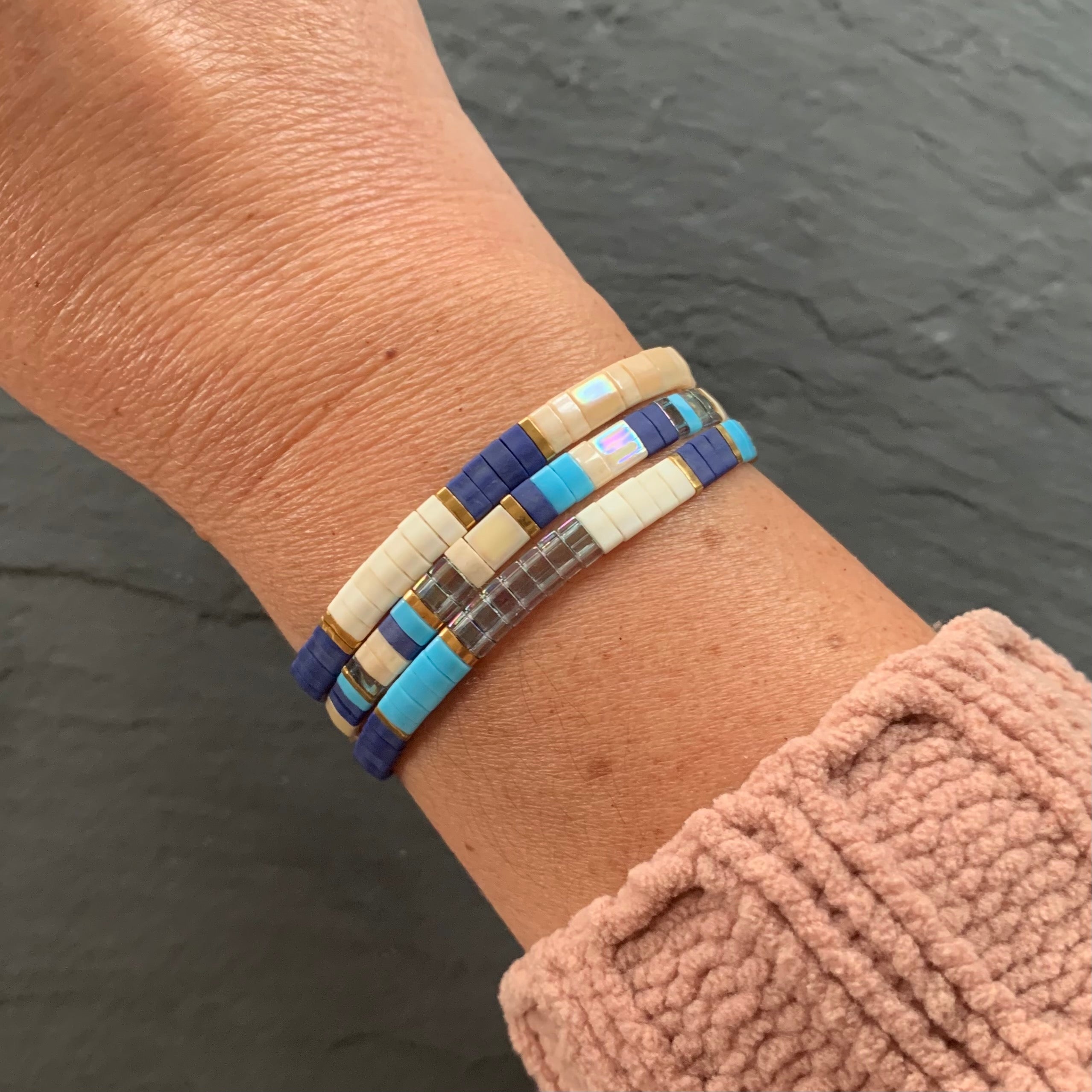 Tile Bracelet Curated Set - SKY SET