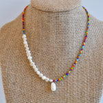 Load image into Gallery viewer, Pearl Mix Necklaces