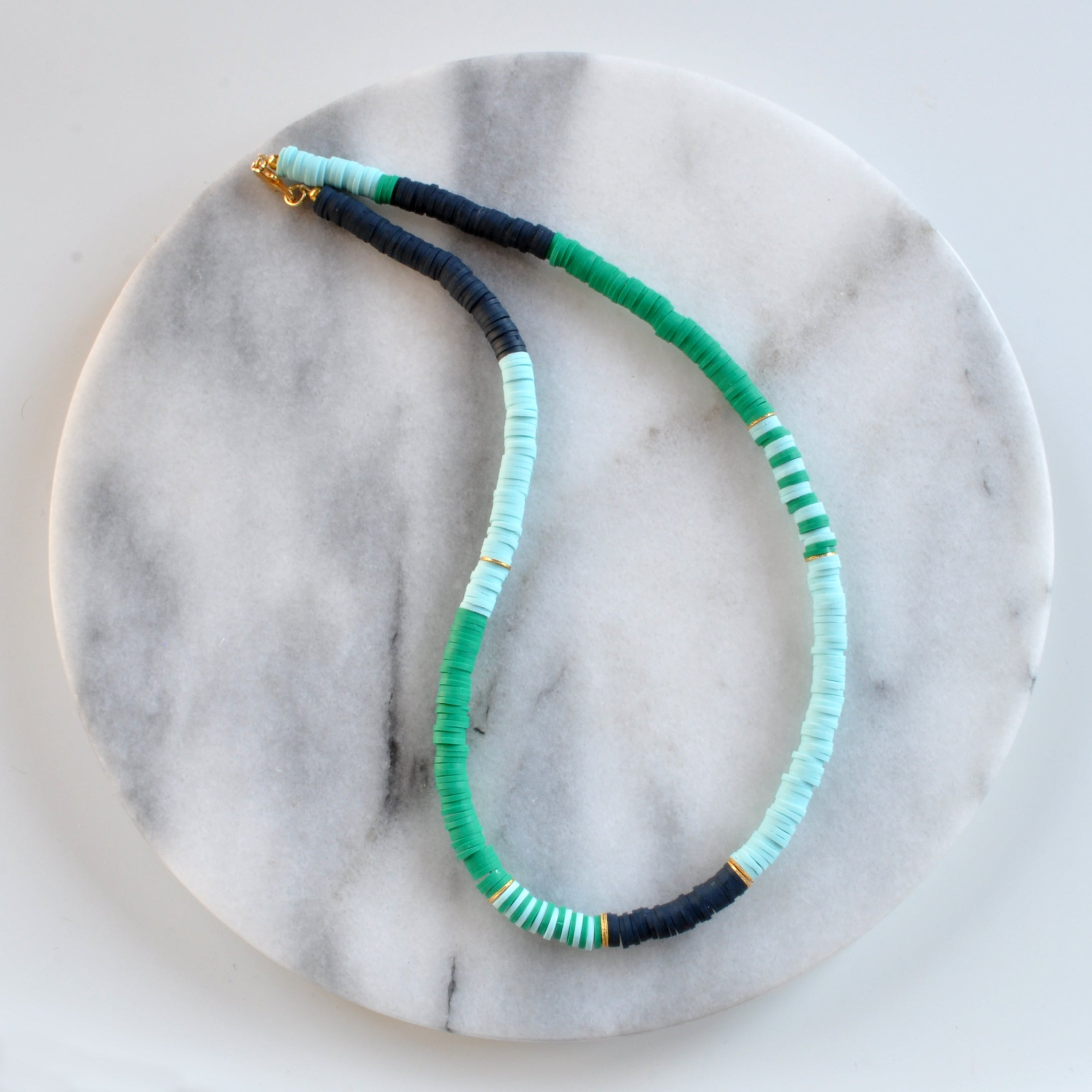 Libby & Smee Heishi Bead Necklaces - Style #5