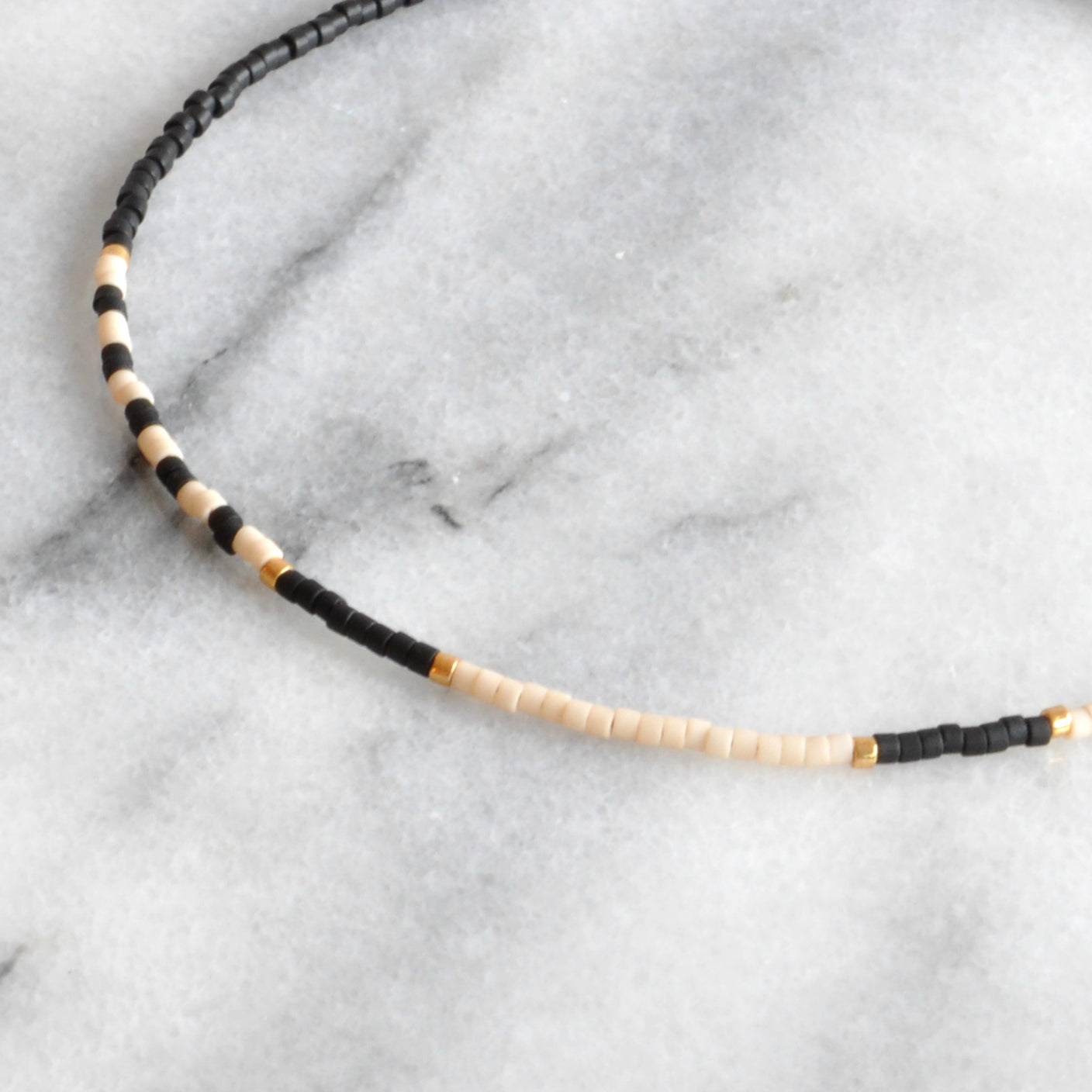 Beaded Choker Necklace
