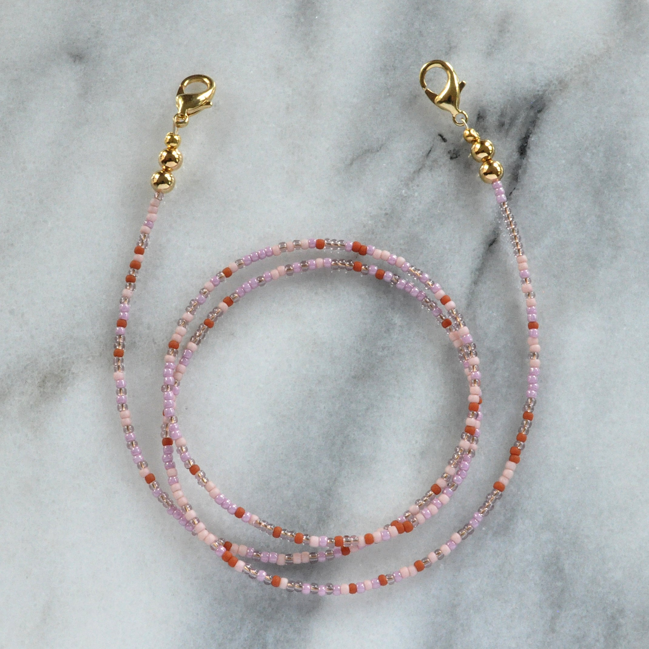 Seed Bead Mask Chains