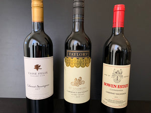 Cabernet Sauvignon Tasting Saturday 25th July 2020