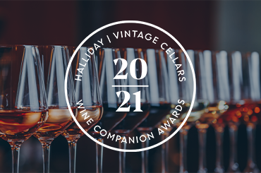 Halliday Wine Companion Winners 2021 Saturday 15th August - 5pm