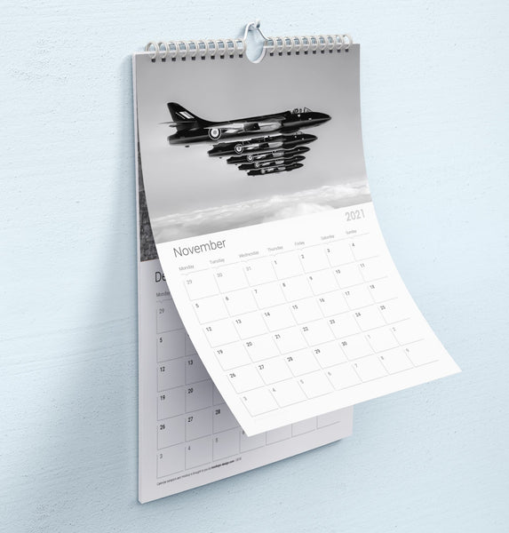 Black Arrows 2021 Calendar