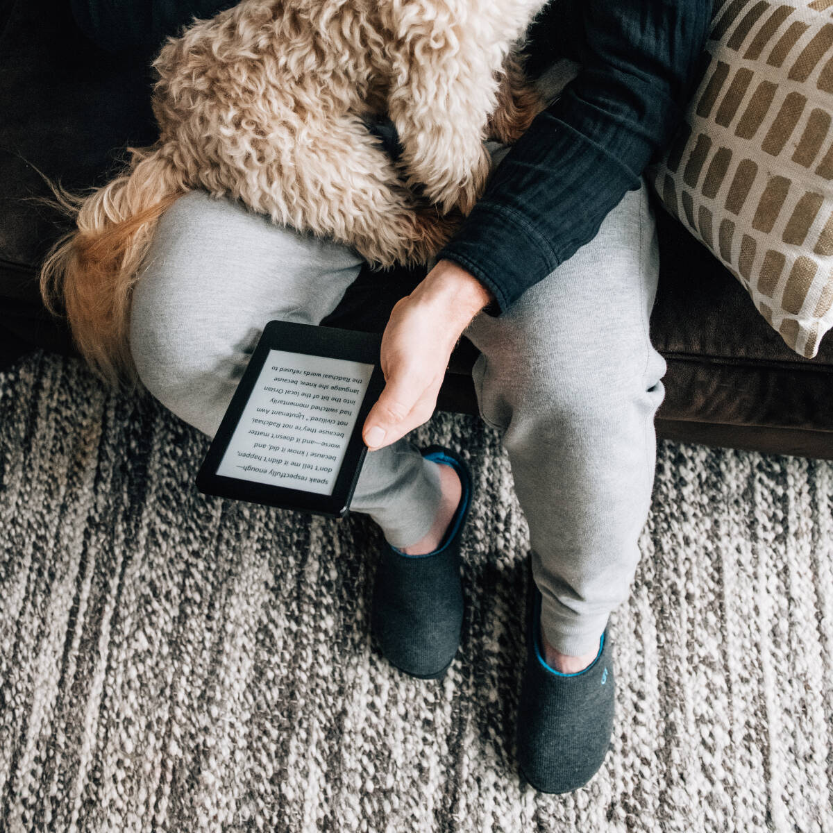 VeraCosy Two-Tone slippers