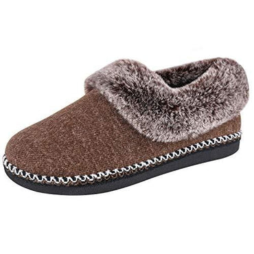 Ladies' EverFoams Fluffy Wool Faux Fur Lofars Slippers