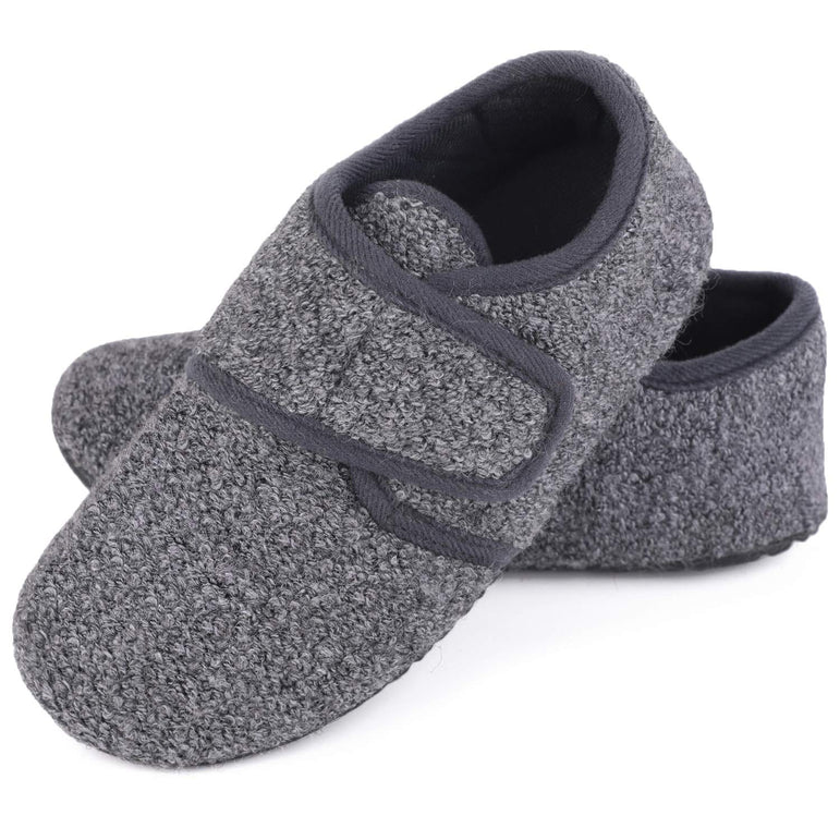 Kids' VeraCosy Lightweight Adjustable Toddlers Slippers Velcro