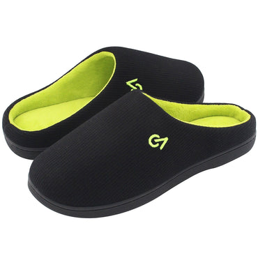 Men's VeraCosy Two-Tone Memory Foam Slippers