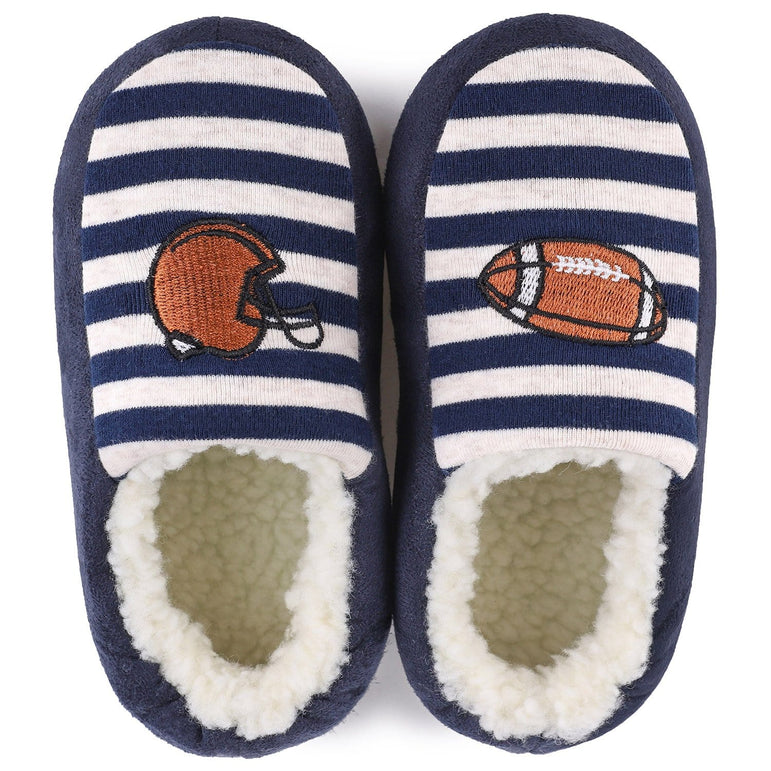 Kids' VeraCosy Rugby Memory Foam Toddlers Slippers