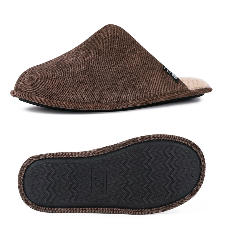 Men's EverFoams Original Corduroy Memory Foam Slippers