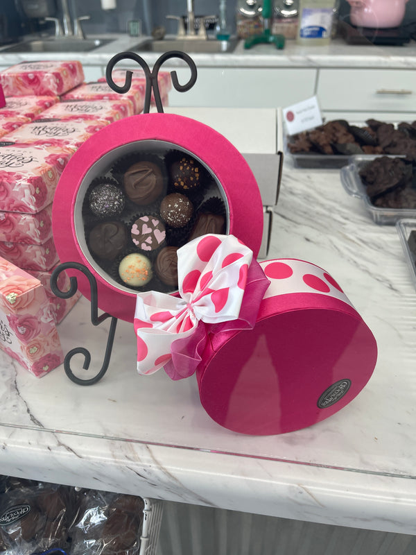 Mother's Day Polka Dot Hat Box