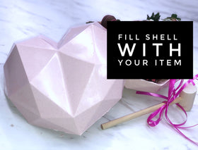 Smash Heart Valentine - Fillable Shell