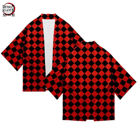 Black and Red Haori