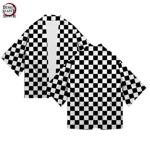 Black and White Haori