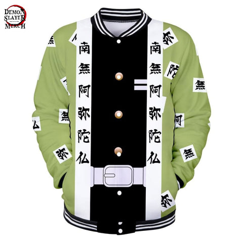 Demon Slayer Gyomei Himejima Baseball Jacket