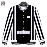 Demon Slayer Obanai Iguro Baseball Jacket