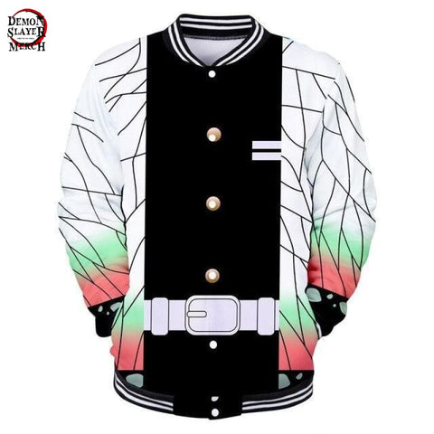 Demon Slayer Shinobu Kocho Baseball Jacket