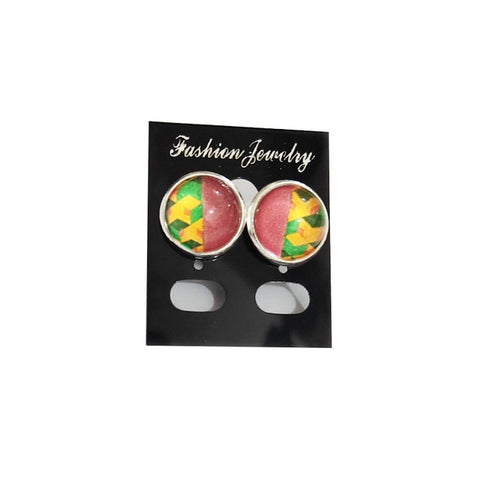 Demon Slayer Stud Earrings <br>Giyuu Pattern