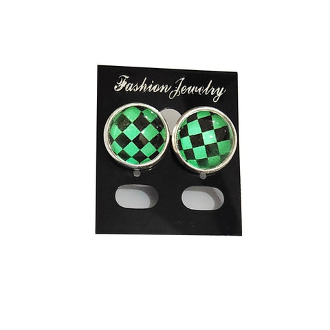 Demon Slayer Stud Earrings <br>Tanjiro Pattern