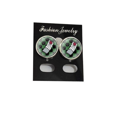 Demon Slayer Stud Earrings <br>Tanjiro Hanafuda