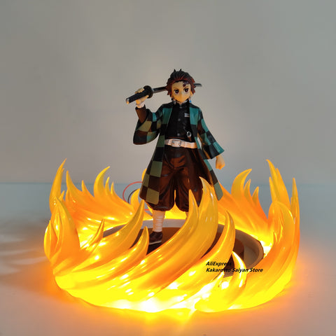 Demon Slayer Lamp<br>Tanjiro Fire Breathing