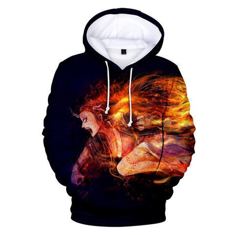 Demon Slayer Hoodie <br>Nezuko Demon Form