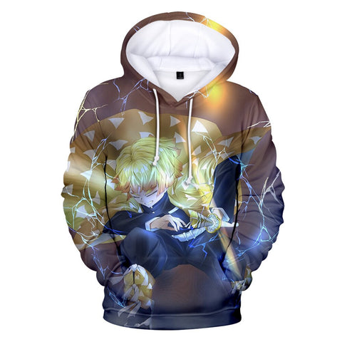 Demon Slayer Hoodie <br>Zenitsu Lightning