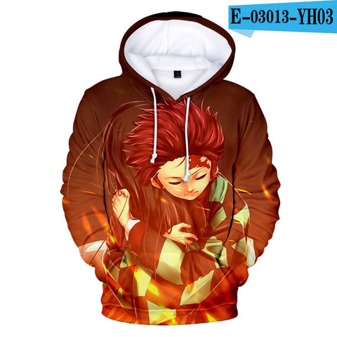 Demon Slayer Hoodie <br>Tanjiro Love