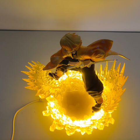 Demon Slayer Lamp <br>Zenitsu Thunder Breathing